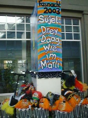 Strizzi - Fasnacht 2003